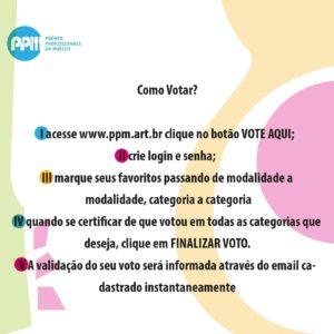 Para votar é simples